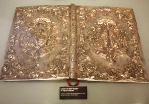 legatura in argento museo diocesano di Bovino