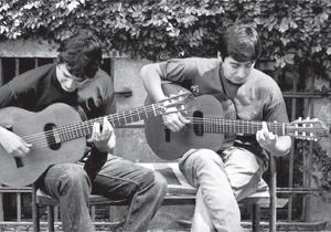 duo di chitarra Pablo e Mauro Cardozo