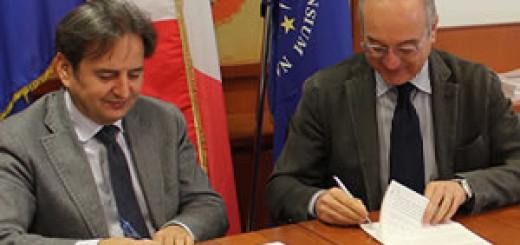 firma accordo parco